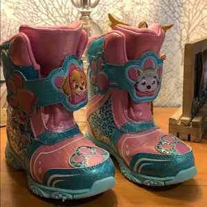 Other - Paw patrol light up snow boots